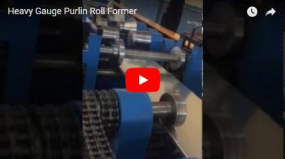 Petit pain de Purlin de voie lourde formant la machine